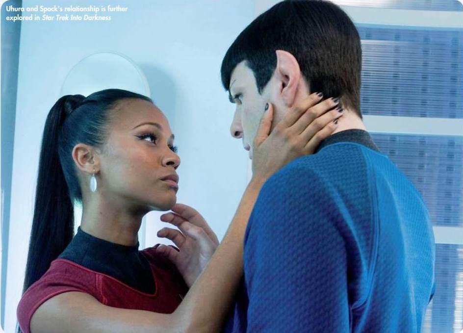 star trek 2009 spock and uhura relationship